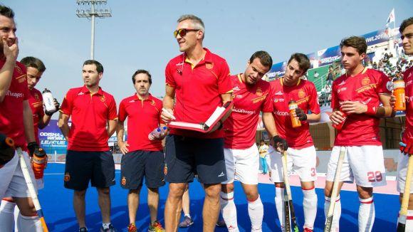 La selecció espanyola d'hoquei herba cau a la segona jornada del World League i és segona del grup A
