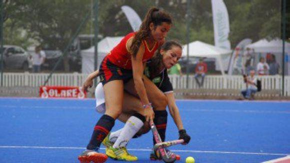 La selecció espanyola sub 18 s'ha quedat a les portes de les semifinals / Font: Rfeh.es