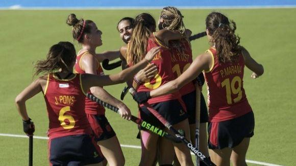Cristina Guinea i la selecció espanyola a un pas de la final del Champions Challenge