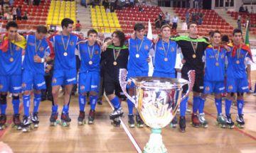 Aguarón i Galbas guanyen el títol de campions del món sub20 d'hoquei patins