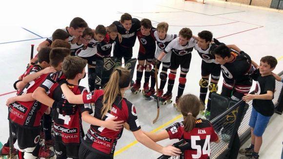 L'aleví A del Patí Hoquei Club Sant Cugat guanya la Copa Federació
