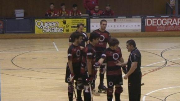 El Patí Hoquei perd el primer partit a casa amb un arbitratge polèmic davant el Tordera