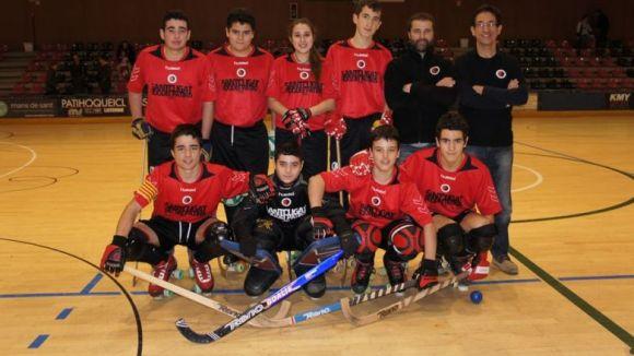 El Patí Hoquei participa en dos torneigs de base a Nantes i Granada