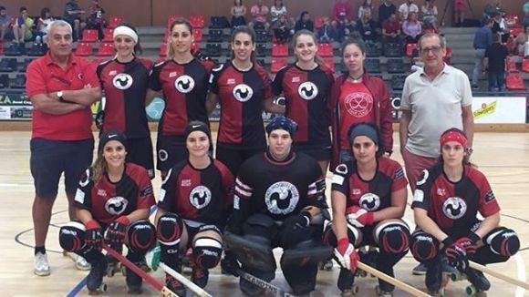 L'equip femení del Patí Hoquei / Font: Patí Hoquei Club Sant Cugat