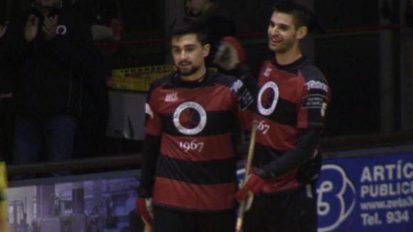 Yepes, a l'esquerra, ha marcat a l'últim segon