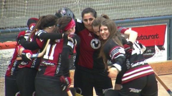 El femení del PHC Sant Cugat supera l'Sfèric B i continua endavant en el play-off d'ascens