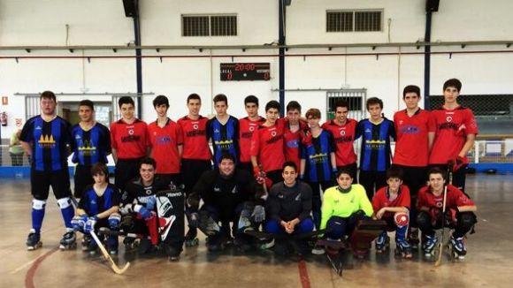 L'infantil A del Patí Hoquei s'emporta el triangular del CP Cájar de Granada