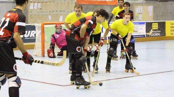 El PHC Sant Cugat s'estrena a la lliga amb triomf davant un rocós Rivas