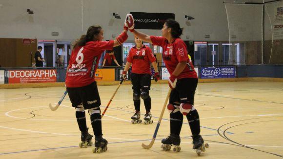 El Patí Hoquei Sant Cugat femení aconsegueix els primers tres punts de la temporada