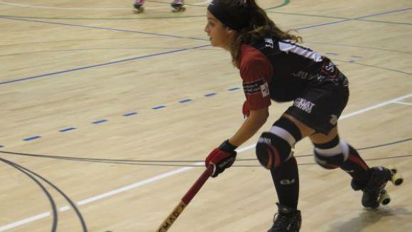 Carlolina Herrera és una de les jugadores destacades del Patí Hoquei