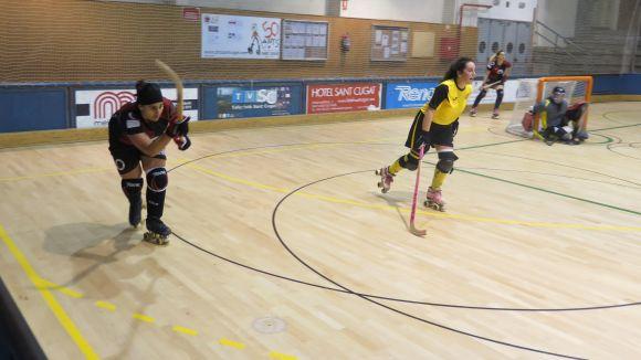 Imatge d'un duel d'aquesta temporada contra el Vila-sana.