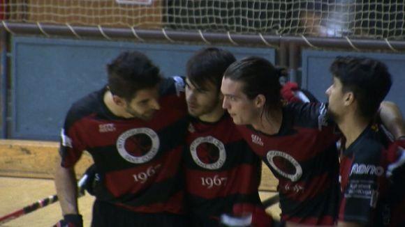 El PHC Sant Cugat torna a fer una exhibició de gols i es manté líder