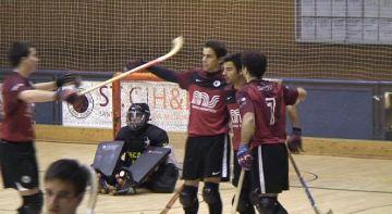 El Patí Hoquei Sant Cugat guanya el Caldes amb un pòquer de gols d'Aguarón