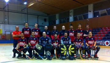 L'equip masculí del Patí Hoquei Club Sant Cugat puja a Primera Divisió