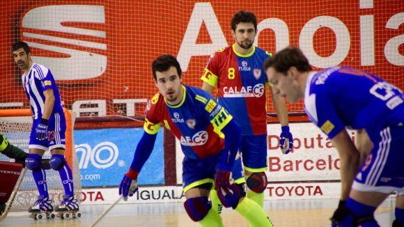 Pol Galbas afronta amb optimisme la primera Copa del Rei amb l'Igualada davant el Barça