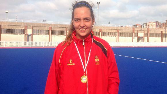 Paz Codina es proclama campiona de l'Europeu sub 18 d'hoquei herba