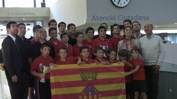 L'Ajuntament reconeix els èxits del Patí Hoquei Sant Cugat