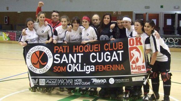 L'equip femení del Patí Hoquei Sant Cugat ha pujat a OK Lliga