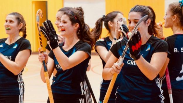 El femení del Junior aconsegueix el bitllet per a la final del català d'hoquei sala