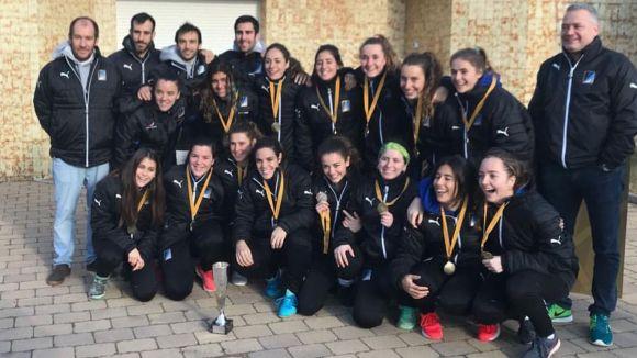 El Junior femení jugarà davant Màlaga 91, Alcalà i San Pablo a la fase prèvia de l'Estatal d'hoquei sala