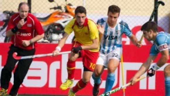 La selecció espanyola júnior s'enfrontarà a Anglaterra per la 13a plaça al Mundial