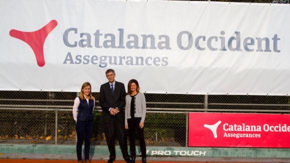 Assegurances Catalana Occident, patrocinador de la secció d'hoquei herba del Junior