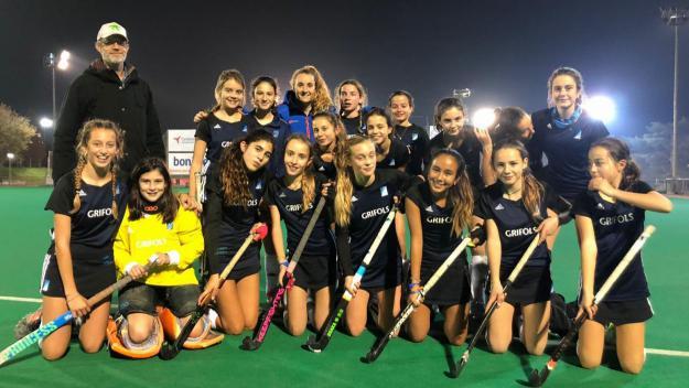 L'infantil femení del Junior es classifica per a la competició europea, EHCC