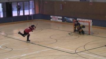 El Patí Hoquei Sant Cugat femení aconsegueix la primera victòria de la temporada contra l'Sferic
