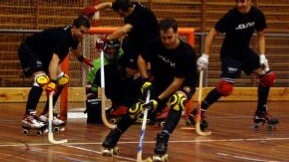La selecció espanyola d'hoquei patins prepara el Campionat d'Europa al CAR