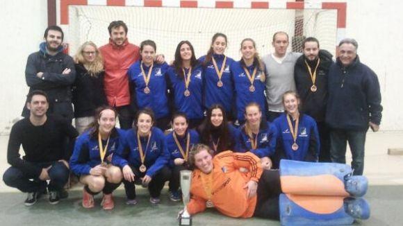 El Junior femení guanya el Català d'hoquei sala amb remuntada davant el Polo