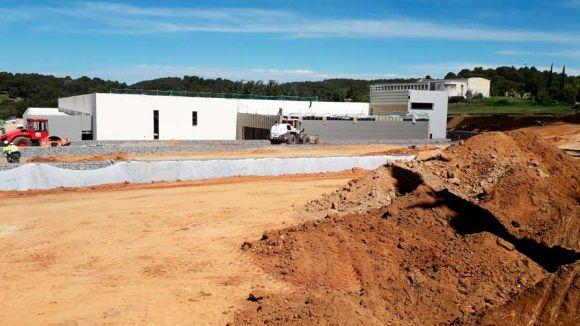 Avancen les obres del nou centre d'HP a Sant Cugat