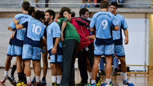 L'Handbol Sant Cugat s'estrena a la Copa Catalana a Banyoles