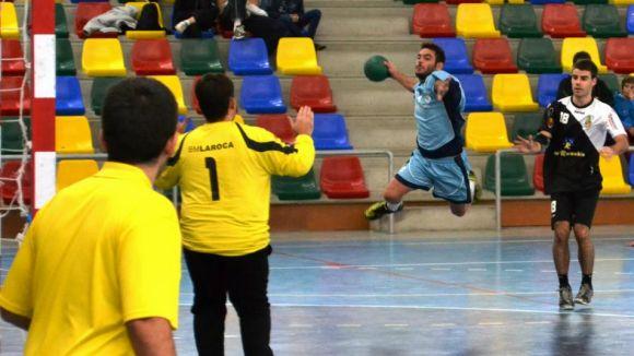 L'Handbol Sant Cugat cau a la pista del Manyanet