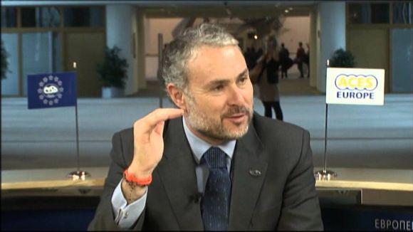 El secretari general d'ACES Europe, Hugo Alonso / Font: ACES Europe