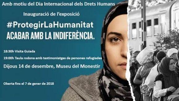 Inauguració d'exposició: 'Protegir la humanitat, acabar amb la indiferència'