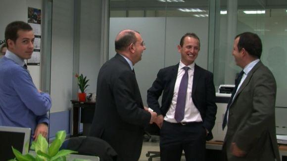 Impuls de l'empresa Icaria amb la inauguració de noves instal·lacions