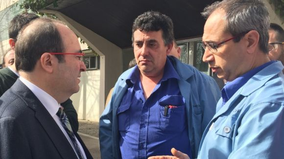 Iceta (PSC), esperançat a trobar una solució per a la planta de Delphi a Sant Cugat