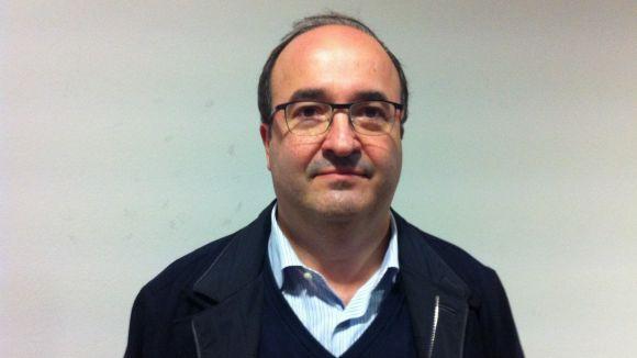 Miquel Iceta: 'La independència és molt més complicada que la reforma federal'