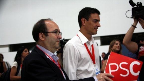 El PSC de Sant Cugat tanca files amb la nova executiva nacional
