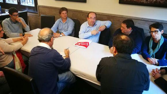 Miquel Iceta: 'En moments tan complexos com aquests, cal un lideratge fort al PSC'