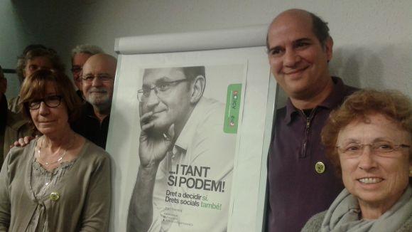 ICV-EUiA obre campanya enaltint el dret a decidir i també els drets socials
