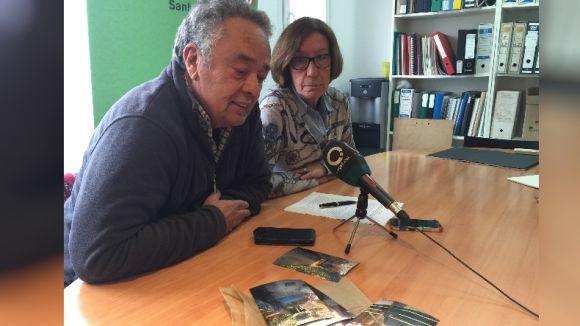 Roser Casamitjana i Josep Maria Àngel durant la roda de premsa