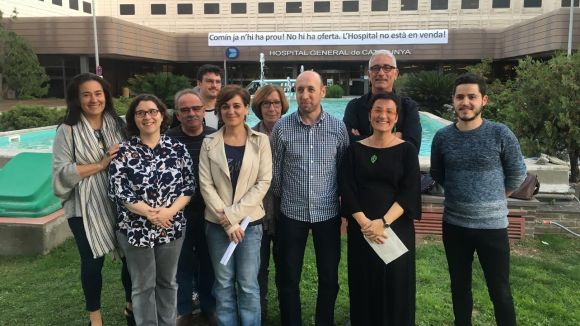 CSQP veu amb bons ulls la compra de l'HGC però demana concreció a la Generalitat