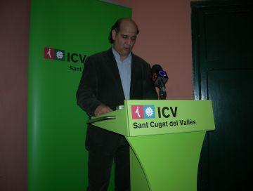 ICV-EUiA reclamarà a la Generalitat que els pressupostos de 2012 incloguin quatre projectes santcugatencs