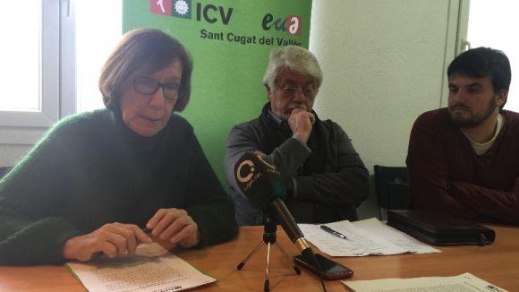 ICV-EUiA proposa un pla integral per fer de Sant Cugat una ciutat sostenible