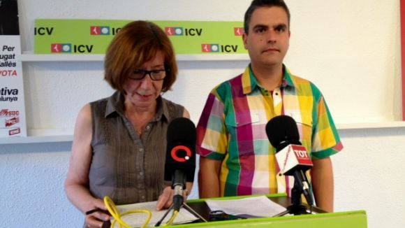 ICV vol potenciar les polítiques d'ocupació dedicades a les persones, en detriment de les iniciatives 'd'aparador'