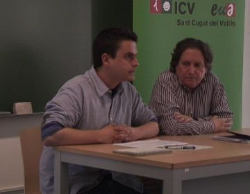 Calderon i Bosch fent els parlaments