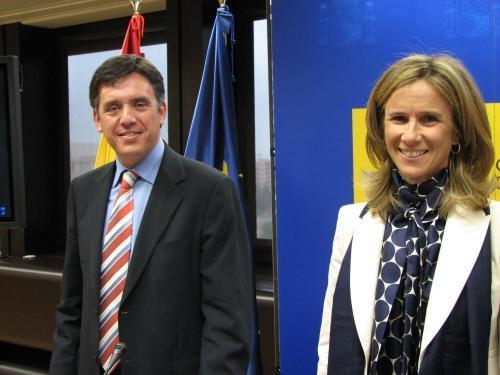 Compromís de Madrid per defensar la candidatura de Sant Cugat a seu de l'IET