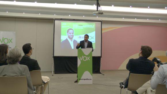 VOX-FiV es presenta a les eleccions per acabar amb el 'malbaratament municipal'
