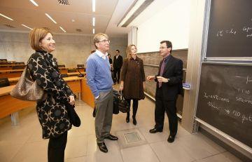 El president d'Ikea s'interessa pel campus santcugatenc d'Esade